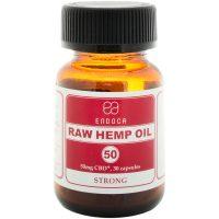 Endoca Raw Hemp Oil Capsules 1500mg CBD + CBDa