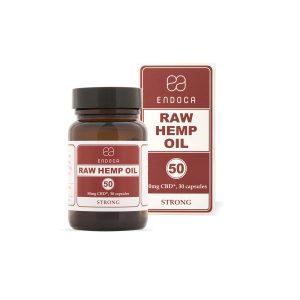 Endoca Raw Hemp Oil Capsules