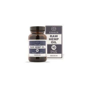 Endoca Hemp Oil 10mg CBD Capsules