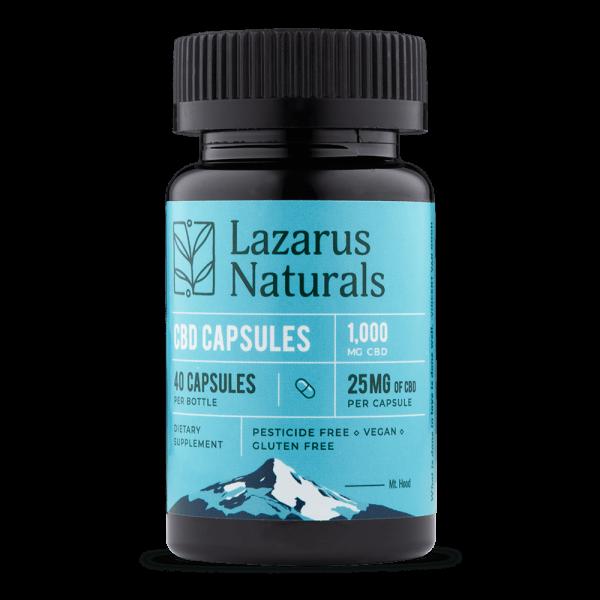 Lazarus Naturals 25mg Full Spectrum CBD Capsules