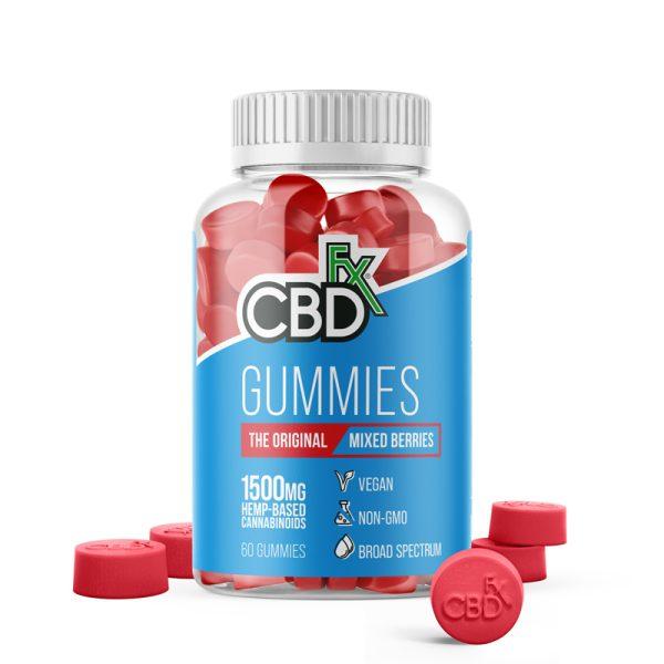 CBDfx CBD Gummies 1500mg 60ct