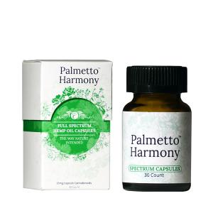 Palmetto Harmony Full Spectrum CBD Capsules