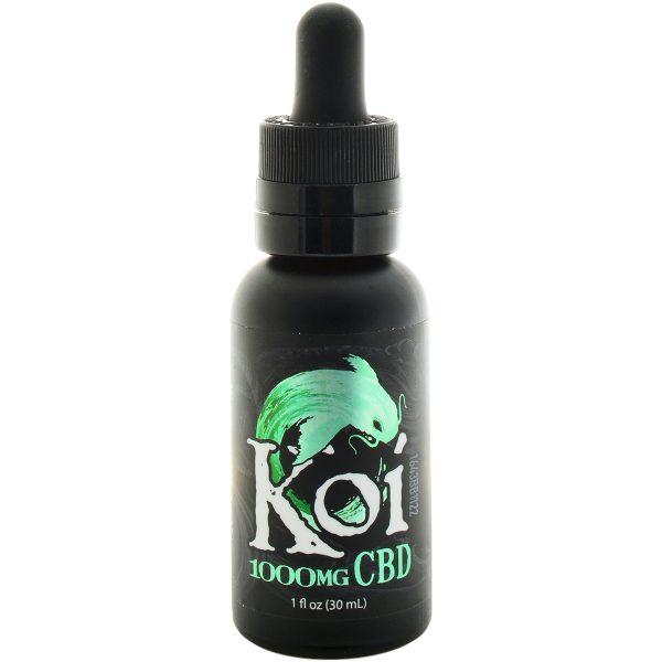 Koi CBD Vape Juice Watermelon Green Sour Apple 1000mg 30ml