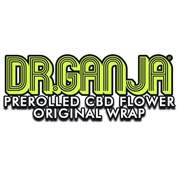 Pre-Rolled CBD Hemp Flower Natural Wrap