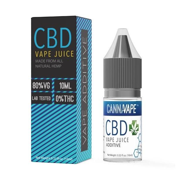 Cannavape CBD E-Liquid Vape Additive 1000mg