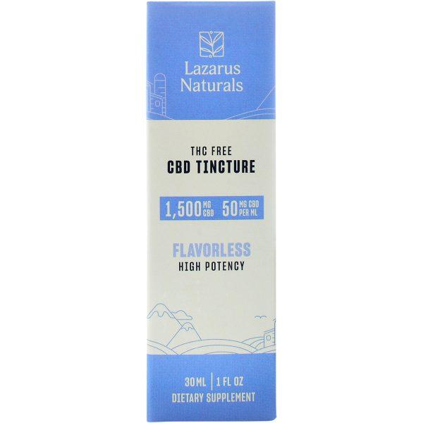 Lazarus Naturals CBD Isolate Tincture Flavorless 1500mg 30ml