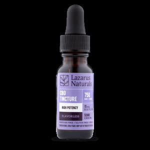 Lazarus Naturals CBD Isolate Tincture Flavorless