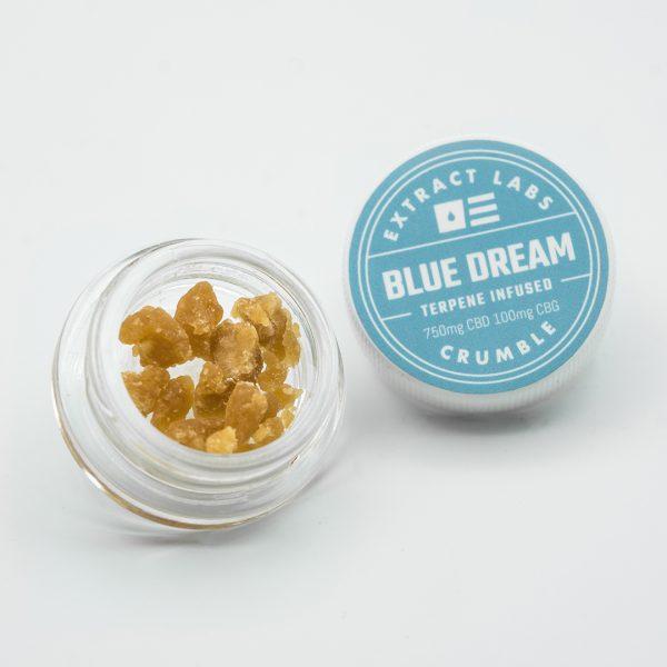 Extract Labs CBD Wax Crumble Blue Dream