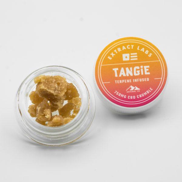 Extract Labs CBD Wax Crumble Tangie