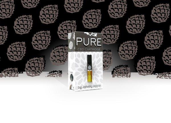 Johnny Apple CBD Pure Vape Cartridge