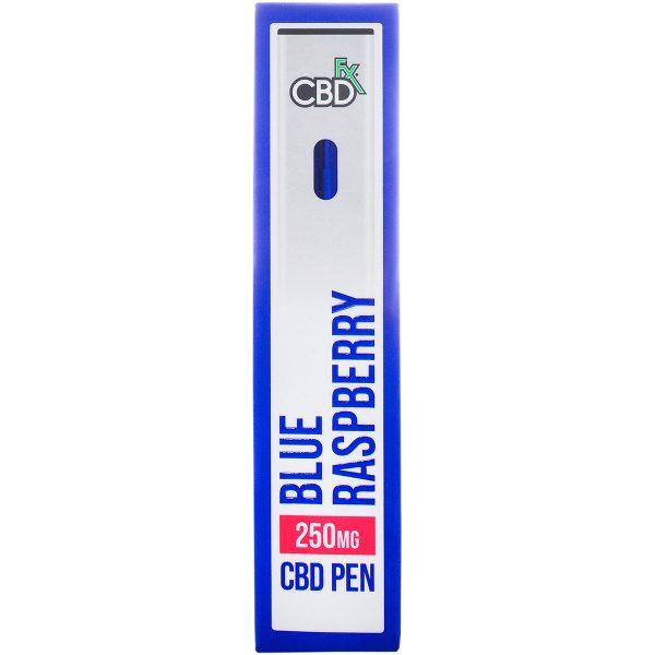 CBDfx CBD Vape Pen Blue Raspberry 250mg
