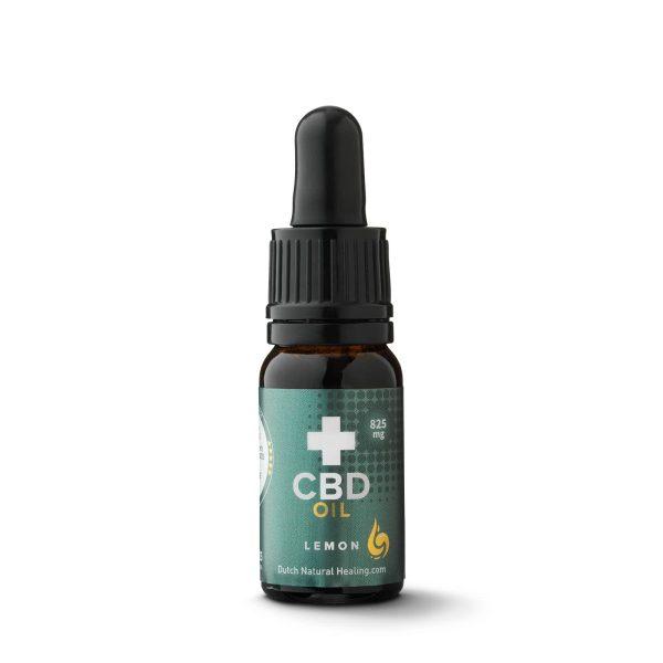 Dutch Natural Healing CBD Oil 825mg 10ml Lemon Flavored