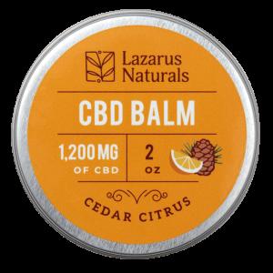 Lazarus Naturals Full Spectrum CBD Balm Cedar Citrus