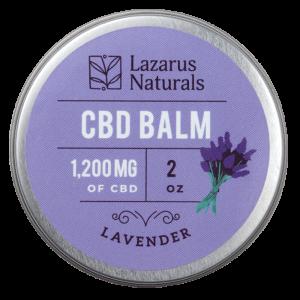 Lazarus Naturals Full Spectrum CBD Balm Lavender