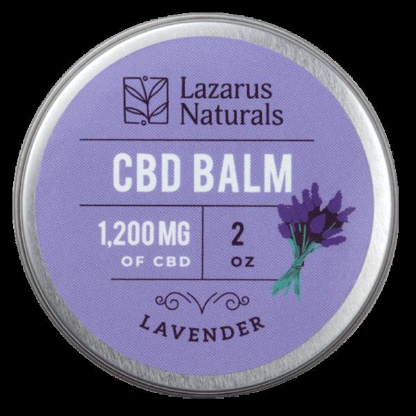 Lazarus Naturals Lavender CBD Balm
