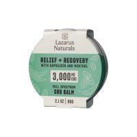 Lazarus Naturals Full Spectrum CBD Balm Relief Recovery 3000mg 2.1oz