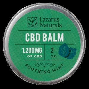 Lazarus Naturals Full Spectrum CBD Balm Soothing Mint