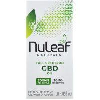 NuLeaf Naturals 300mg Full Spectrum CBD Hemp Oil