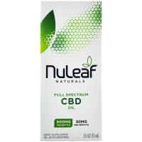 NuLeaf Naturals 900mg Full Spectrum CBD Hemp Oil