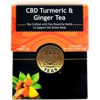 Buddha Teas CBD Turmeric & Ginger Tea