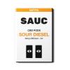 Sauc CBD Vape Pods Sour Diesel