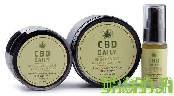 CBD Daily Hemp Based Body Care products Dr.Ganja