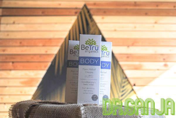 BeTru Organics all natural CBD pain relief Dr.Ganja