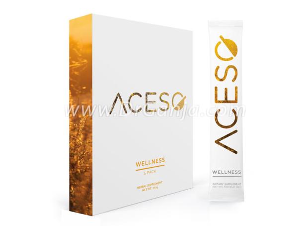 Aceso Wellness CBD Beverage Powder