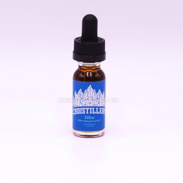 CBDistillery Full Spectrum Hemp CBD Oil Tincture 500 mg 15 ml