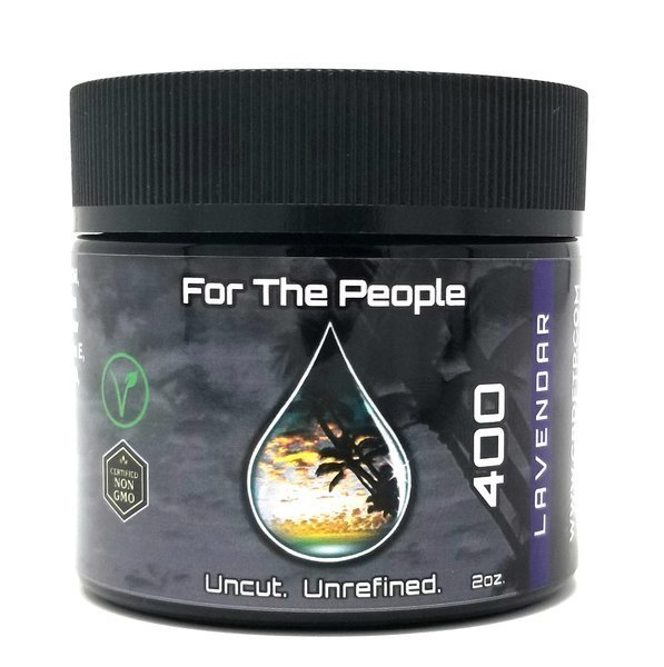 CBD For The People Unrefined Lavender Salve 400 mg