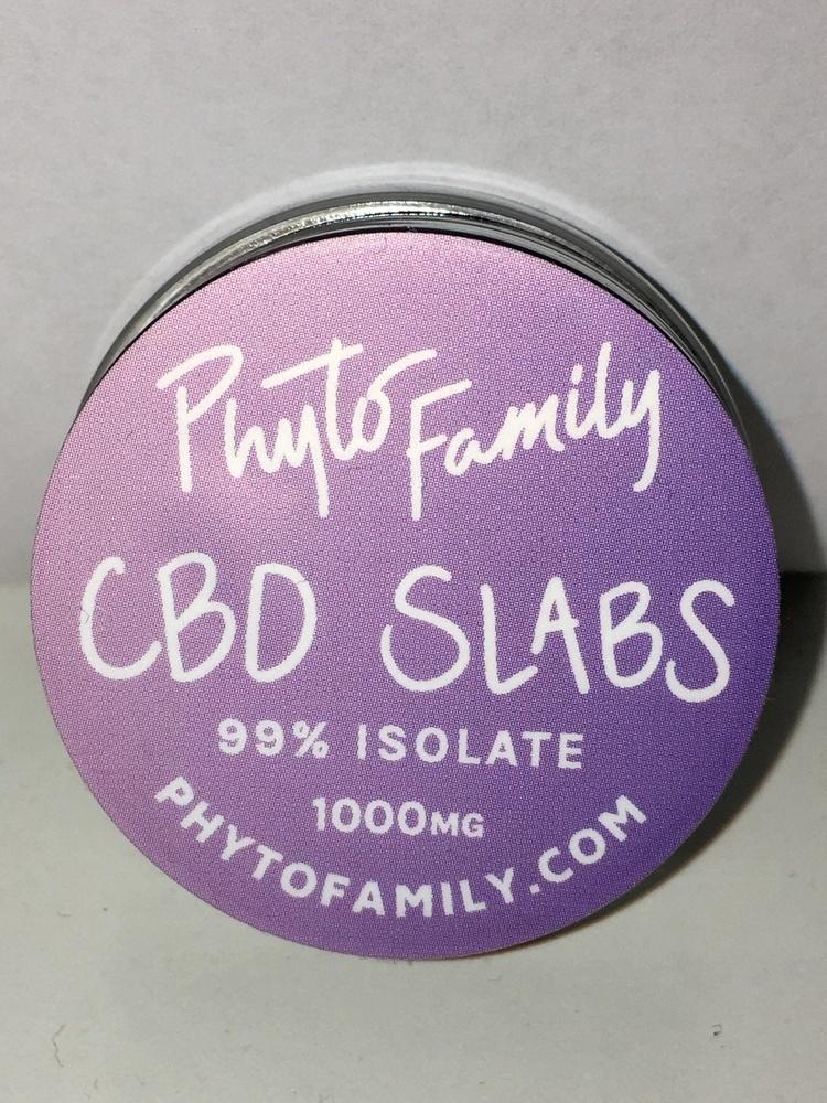 Phyto Family CBD Isolate Slab 1 Gram