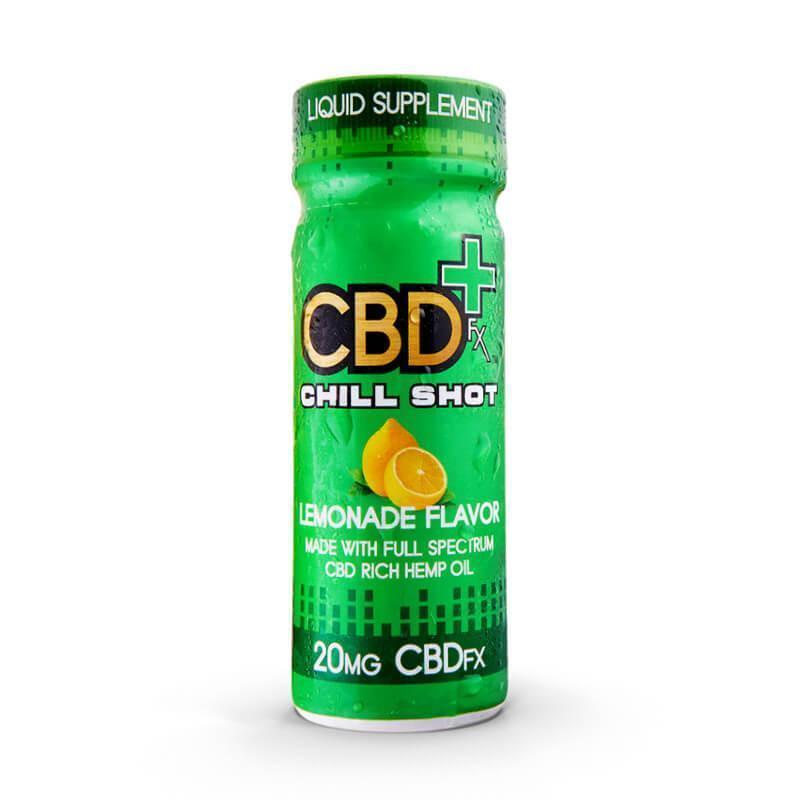 CBDfx CBD Chill Shot Lemonade  20 mg
