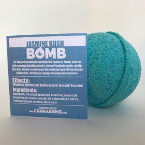 CannaBomb Jasmine Kush CBD Bath Bomb 100mg