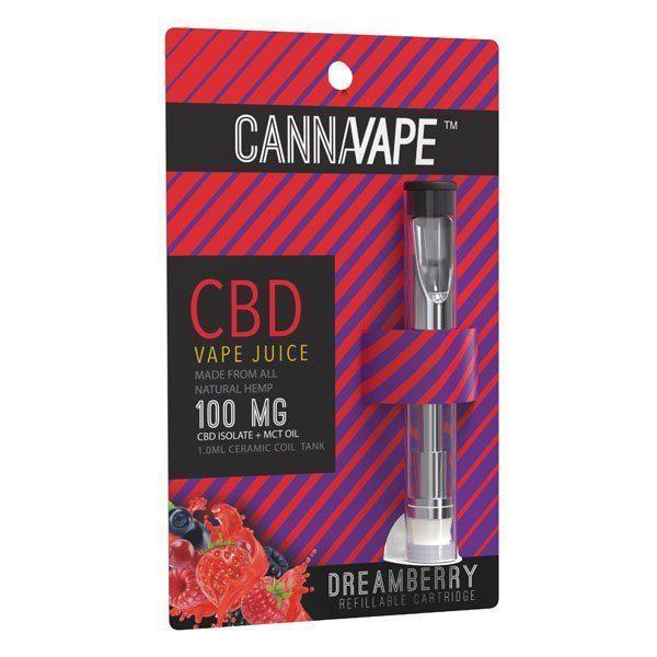 Cannavape Dreamberry CBD Vape Cartridge 100 mg