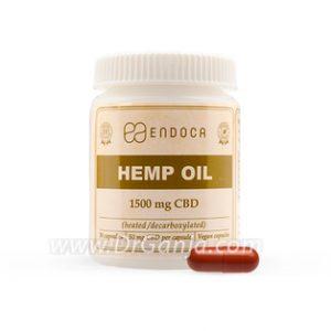 Endoca Hemp Oil Capsules 1500 mg CBD