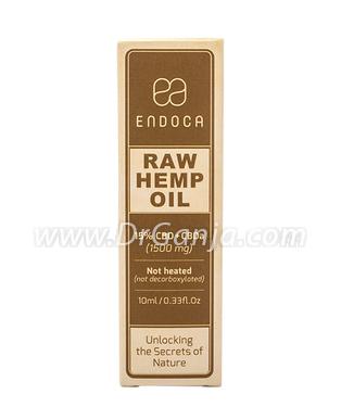 Endoca Raw CBD Hemp Oil Drops 1500 mg  CBD + CBDa