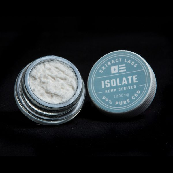 Extract Labs 99% CBD Isolate Powder 1 Gram