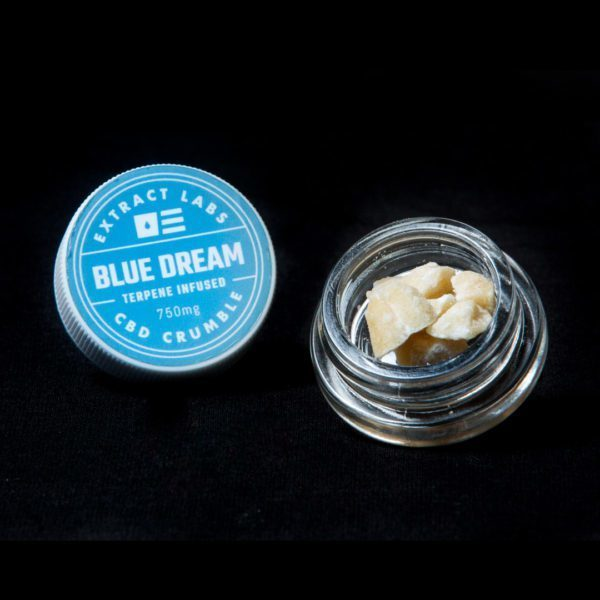 Extract Labs CBD Crumble Blue Dream