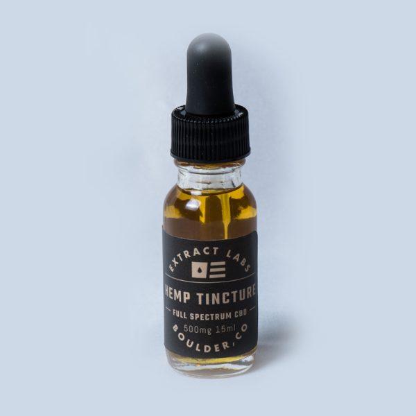 Extract Labs Full Spectrum CBD Tincture 500 mg