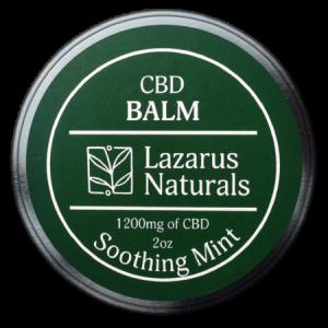 Lazarus Naturals CBD Balm Soothing Mint