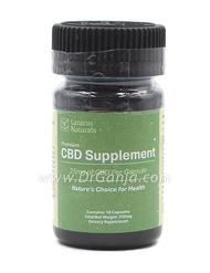 Lazarus Naturals 25 mg  CBD Capsules