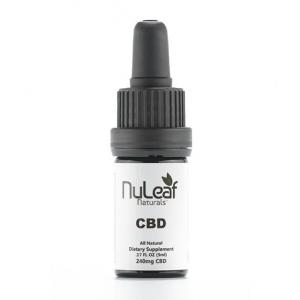NuLeaf Naturals 240mg Full Spectrum CBD Hemp Oil