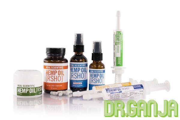 Real Scientific 100% natural hemp CBD oil Dr.Ganja