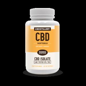CBDistillery CBD Isolate Capsules