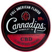 Cannadips American Spice CBD Pouches
