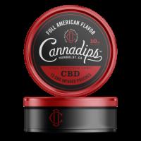 Cannadips Full American CBD Pouches