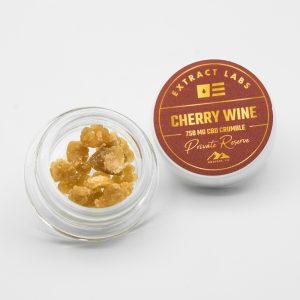 Extract Labs CBD Wax Crumble Cherry Wine