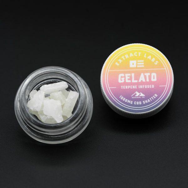 Extract Labs CBD Shatter Gelato