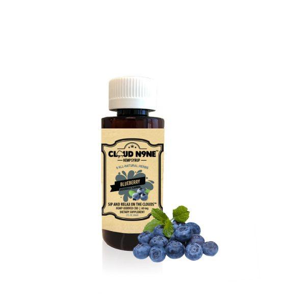 Cloud N9ne CBD Syrup Blueberry