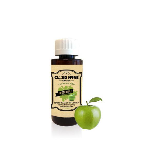 Cloud N9ne CBD Syrup Green Apple